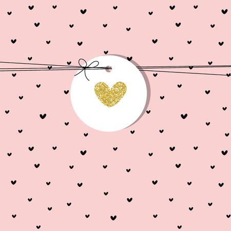 Tarjeta de felicitación con espacio de copia. Para la invitación de cumpleaños, tarjetas de felicitación, baby shower, día de la madre, San Valentín. Elemento de diseño lindo.