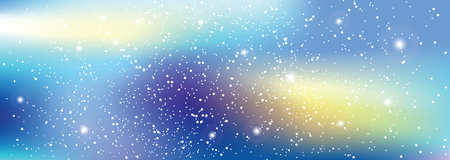 spiritual energy: Universe with stars. Matrix of glowing stars. Space background.
