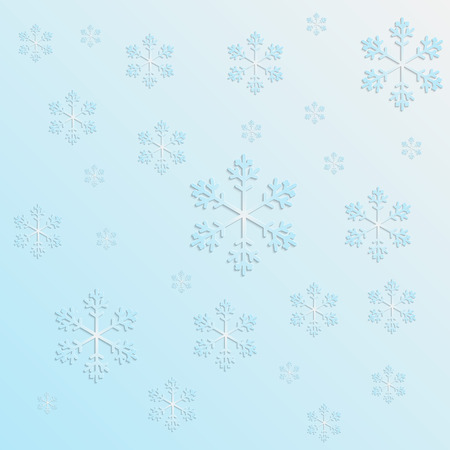bulk: blue bulk snowflake on a blue background