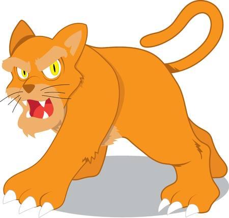 untamed: Illustration of female lion