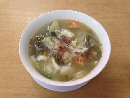 hoon: Mee hoon soup