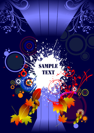 Abstract background or greeting card Vector