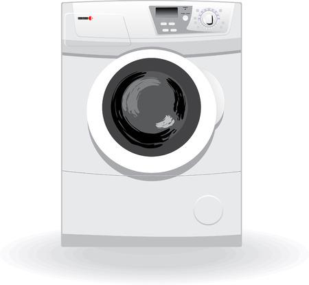 Washing machine vector illustration Vector
