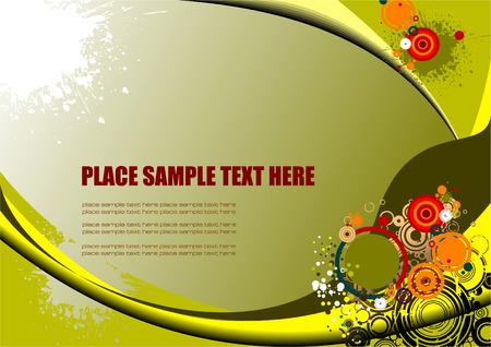 backgrund: Abstract hi-tech backgrund. Vector illustration Illustration