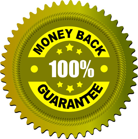 Label money back guarantee. Vector illustration Stock Vector - 4352062