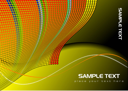 Abstract background or cover for brochure. Vector illustration Vector
