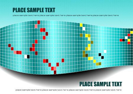 azulejos ceramicos: Baldosas cer�micas de fondo. ilustraci�n vectorial Vectores