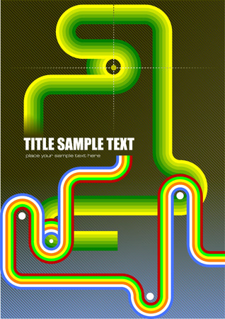 junction pipe: Pipe di sfondo. Junction immagine. Vector illustration