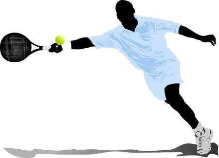 Lawn Tennis Player Tennis
