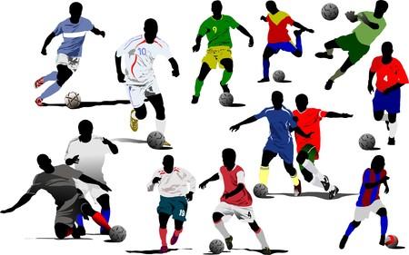 jugadores de soccer: Jugadores de f�tbol