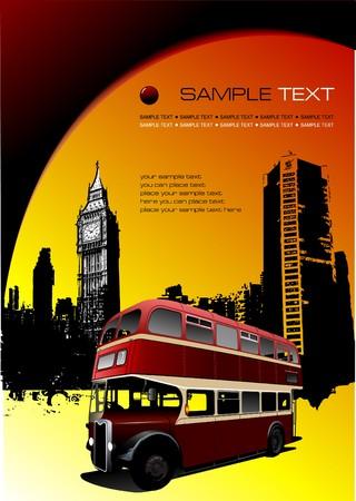 decker: London images with double Decker bus.