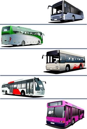 ausflug: F�nf Stadtbusse. Trainer.