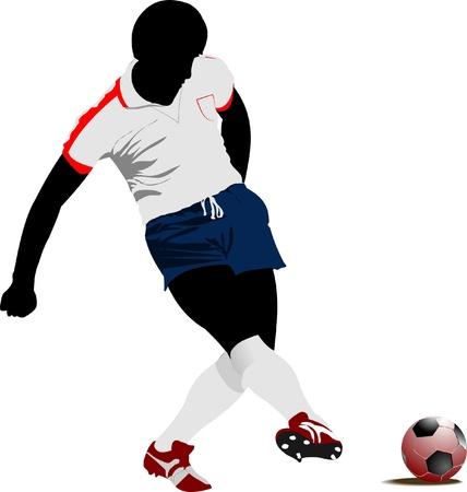 jugadores de soccer: Jugadores de f�tbol.