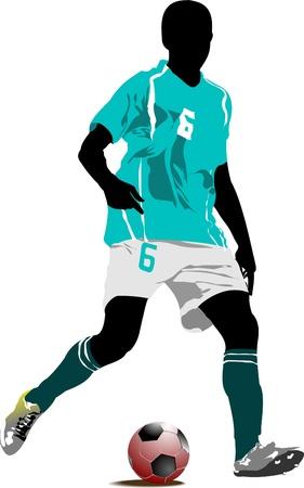 Futbolista. Foto de archivo - 8749448