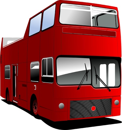 sightseeing: An open topped tour London bus