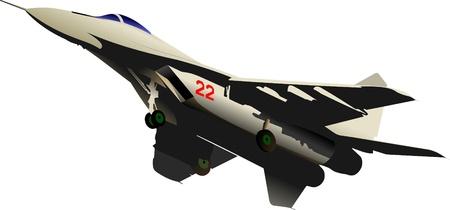 misil: aviones de combate de vectores Vectores