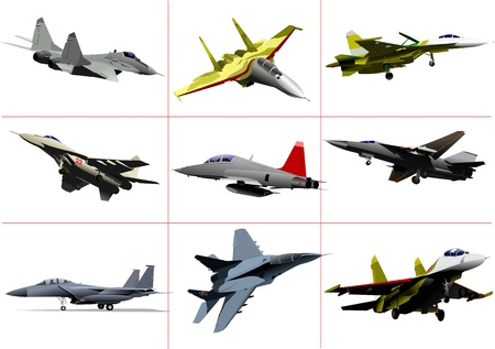 Air Force Team. Vektor-illustration