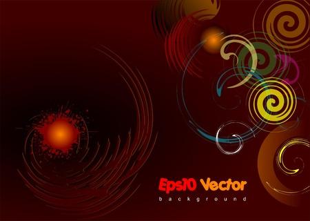 brown background Stock Vector - 9552063