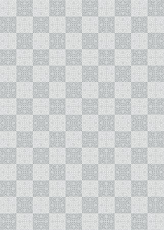 Motivo geometrico monocromatico Illustrazione vettoriale