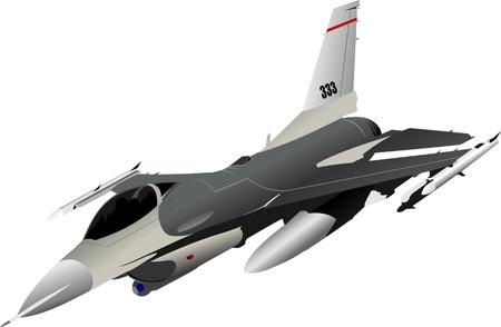 Luftwaffe-Team. Vektor-illustration