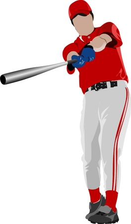 Joueur de baseball.