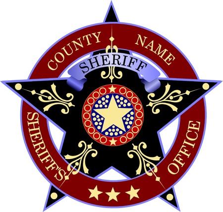 Sheriff s Badge Stock Vector - 15127777