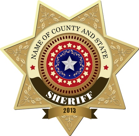 enforcement: Sheriff s Badge