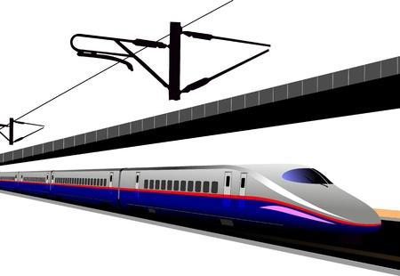 Shinkansen. Illustration