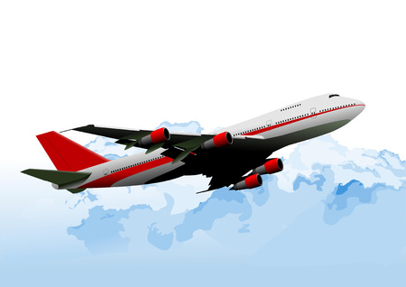 21,995 Commercial Aircraft Stock Vector Illustration And Royalty ...