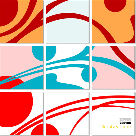 mosaic tiles: Vector Illustration geometrical mosaic abstract pattern