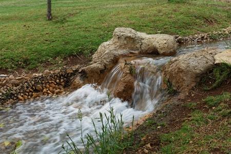 streamlet: streamlet and rocks  Stock Photo