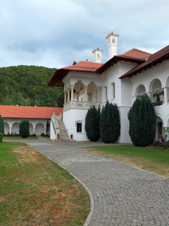 transylvania: Sambata greek orthodox monastery in Transylvania Romania
