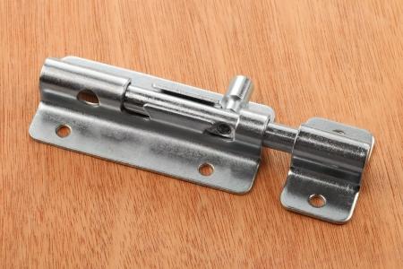 Metal latch for the door
