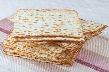 matzo: Matzo (or matzah) breads Stock Photo