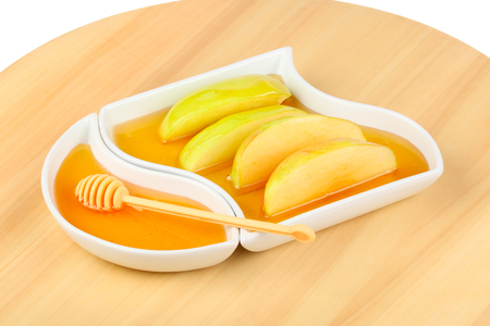 hashana: Dipping apples in honey for Rosh HaShana, the Jewish New Year