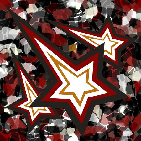 falling star: falling star wallpaper Illustration