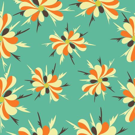 herbstblumen: Herbst-Blumen-Muster