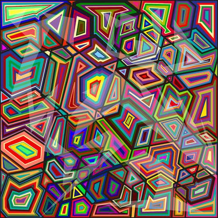 mértan: geometry glass pattern