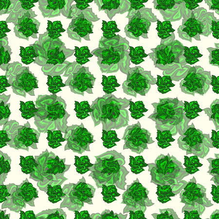 abstract background vector: ??????green rose abstract background vector illustration wallpaper