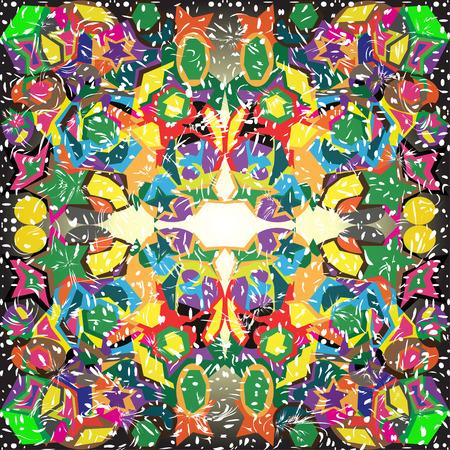 backlit: geometric background backlit vector illustration