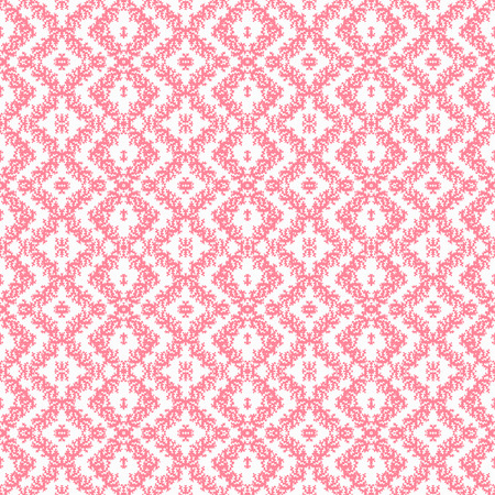 vintage background paper: abstract pink pattern on a light background Illustration