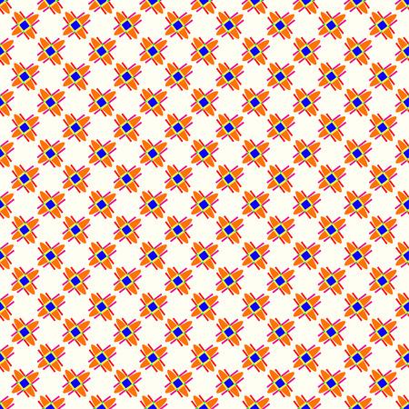 geometrical: small geometric seamless pattern on a light background Illustration