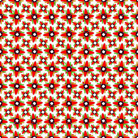 red wallpaper: red geometric objects on a light background wallpaper