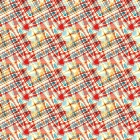 jaune rouge: blue red yellow circles psychedelic abstract background
