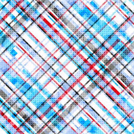 red abstract backgrounds: blue red and black lines on a white background vector illustration Illustration