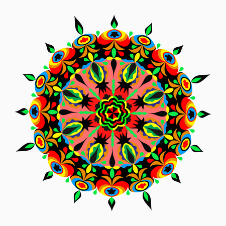 mandalas: Mandalas collection. Round Ornament Pattern