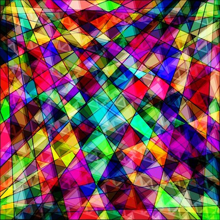bright colors: polygons psychedelic bright abstract geometric