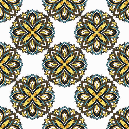 mandala: Lace background. Beautiful Mandala. Vector illustration. Illustration