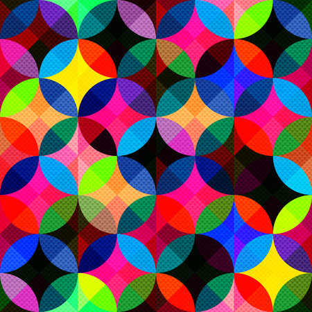 bright: bright abstract geometric seamless background