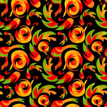 african ethnic seamless pattern royalty free stock illustration Illustration